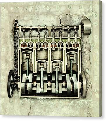 Memories Of A Classic Car I Canvas Print by Martin Bergsma
