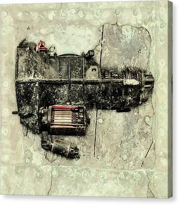 Memories Of A Classic Car II Canvas Print by Martin Bergsma