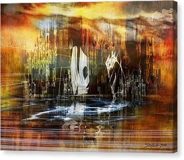 Memories Of Atlantis Canvas Print