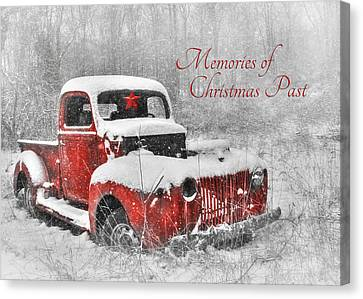 Memories Of Christmas Past Canvas Print by Lori Deiter