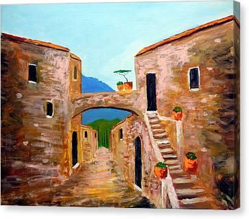 memories of Montalcino Canvas Print