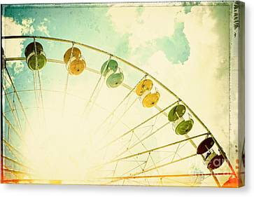 Carnival - Memories Of Summer Canvas Print by Colleen Kammerer