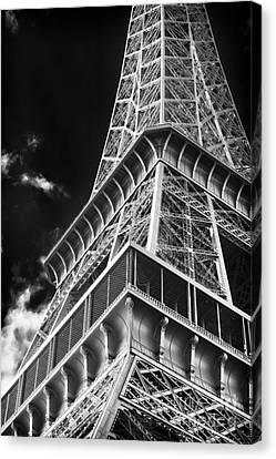 Memories Of The Eiffel Tower Canvas Print by John Rizzuto