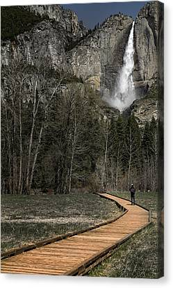 Memories Of Yosemite Canvas Print by Eduard Moldoveanu