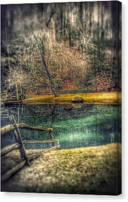Canvas Print featuring the photograph Memories Revisited by Steven Huszar