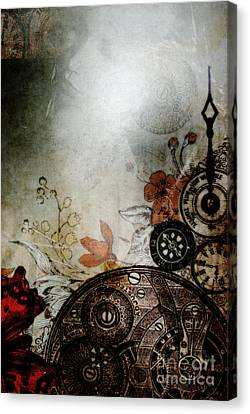 Memories Unlocked Canvas Print by Sharon Coty