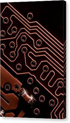 Memory Chip Canvas Print by Bob Orsillo