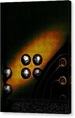 Memory Chip Number Three Canvas Print by Bob Orsillo