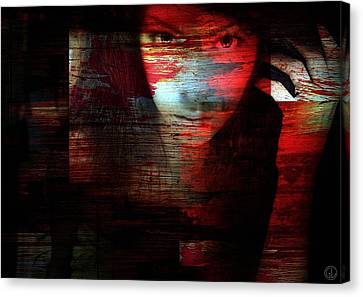 Memory Etched In Wood Canvas Print by Gun Legler