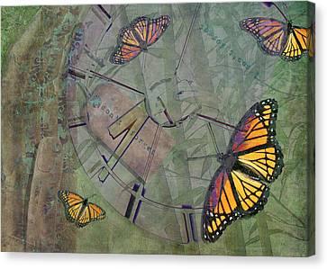 Memory Is Fleeting Memories Persist Canvas Print by Marianne Campolongo