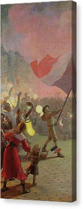 Memory Of The National Festival Canvas Print