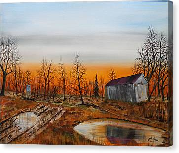 Memory Reflections Canvas Print by Jack G  Brauer