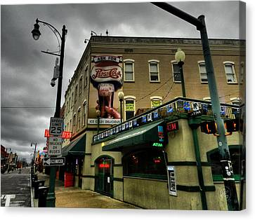 Memphis - Beale Street 006 Canvas Print by Lance Vaughn