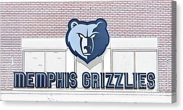 Memphis Grizzlies Canvas Print