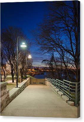 Memphis Riverfront Canvas Print