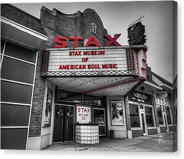 Memphis - Stax Records 001 Ck Canvas Print by Lance Vaughn