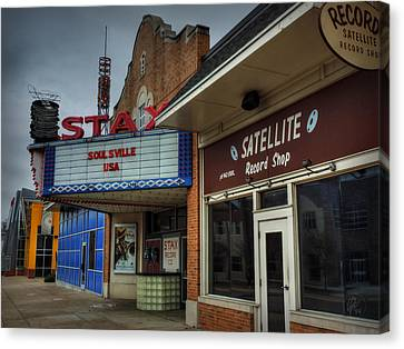 Memphis - Stax Records 002 Canvas Print by Lance Vaughn