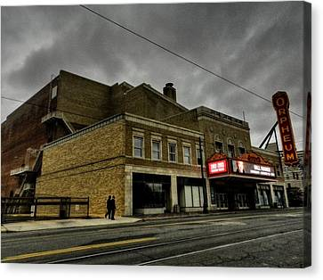 Memphis - The Orpheum 001 Canvas Print by Lance Vaughn