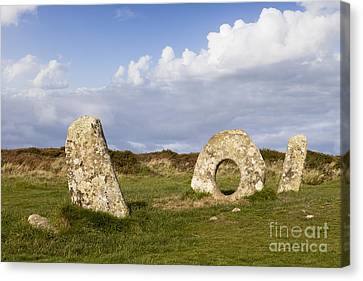 Men-an-tol Cornwall Canvas Print by Colin and Linda McKie
