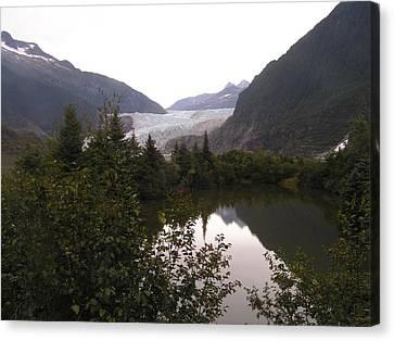 Mendenhall Glacier 1 Alaska Canvas Print