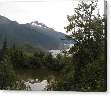 Mendenhall Glacier 2. Alaska Canvas Print
