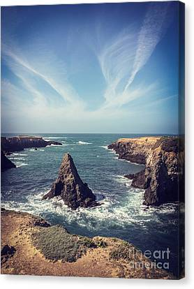 Mendocino Canvas Print by Colin and Linda McKie