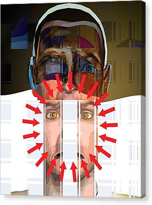 Psychiatric Patient Canvas Print - Mental Disorder, Conceptual Artwork by Science Photo Library