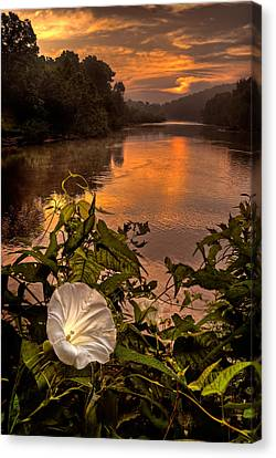 Meramec River At Chouteau Claim Canvas Print