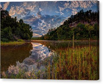 Meramec River  Canvas Print
