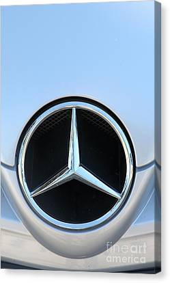 Mercedes - 5d20973 Canvas Print by Wingsdomain Art and Photography