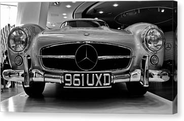 Canvas Print featuring the photograph Mercedes Benz 300sl by Stephen Taylor