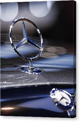 Mercedes Benz Canvas Print by Gordon Dean II