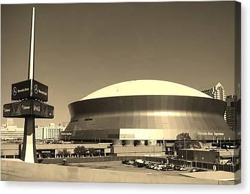 Mercedes Benz Superdome - New Orleans La Canvas Print
