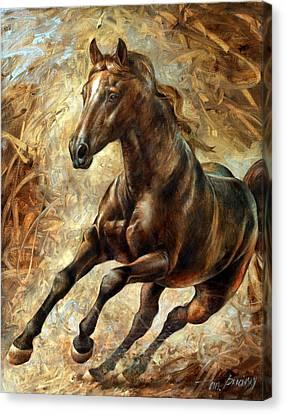 Mercury Canvas Print by Arthur Braginsky