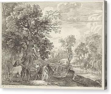 Mercury Batt Gagging, Herman Van Swanevelt Canvas Print by Herman Van Swanevelt