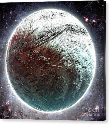 Mercury Planet Canvas Print by Bernard MICHEL