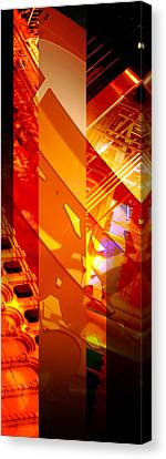 Merged - Arched Orange Canvas Print by Jon Berry OsoPorto