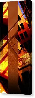 Merged - Orange City Canvas Print