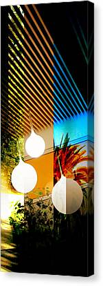 Merged - Slatted Canvas Print