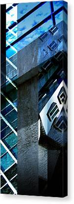 Merged - Tower Blues Canvas Print