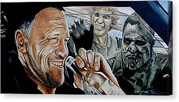 Merle's Last Stand Canvas Print