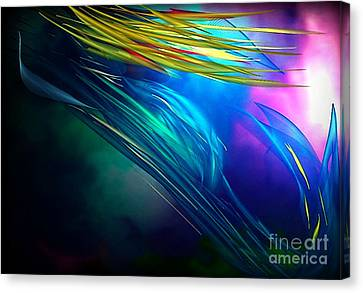 Mermaid  Canvas Print by Gayle Price Thomas