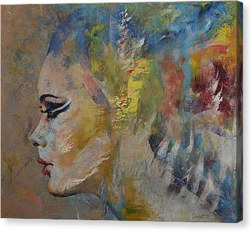 Mermaid Canvas Print by Michael Creese