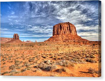 Merrick And East Mitten Butte Canvas Print