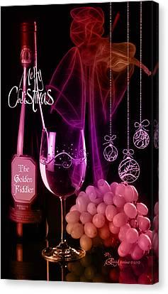 Merry Christmas Canvas Print by EricaMaxine  Price