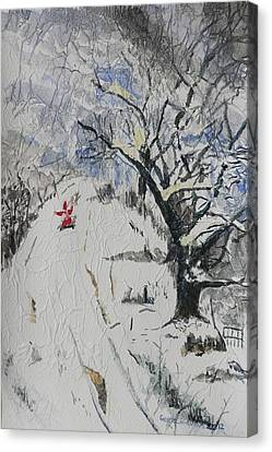Merry Christmas  Canvas Print by Geeta Biswas