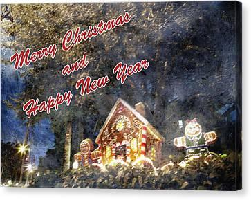 Merry Christmas Canvas Print by Skip Nall