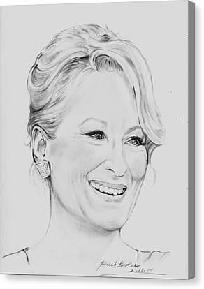 'meryl' Canvas Print