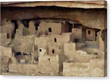 Mesa Verde Canvas Print by Dan Sproul