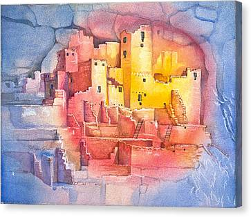 Mesa Verde Canvas Print by Patricia Allingham Carlson